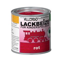 lackbeize f r spielzeug 375 ml metalldose farbe rot holzfarben bindulin shop. Black Bedroom Furniture Sets. Home Design Ideas